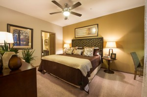 Apartments Woodlands TX WoodlandsLodge B2 Master Bedroom