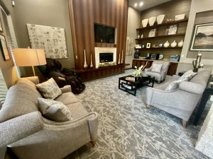 One Bedroom Apartments for Rent in The Woodlands, TX - Clubhouse Coffe Bar & Lounging Area