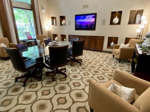 One Bedroom Apartments for Rent in The Woodlands, TX - Clubhouse Conference Room