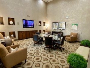 One Bedroom Apartments for Rent in The Woodlands, TX - Clubhouse Conference Room (2)