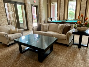 One Bedroom Apartments for Rent in The Woodlands, TX - Clubhouse Interior