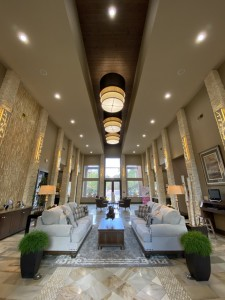 One Bedroom Apartments for Rent in The Woodlands, TX - Clubhouse Lobby