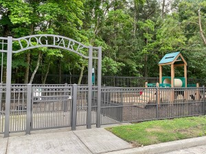 One Bedroom Apartments for Rent in The Woodlands, TX - Dog Park Entrance