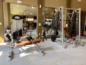 One Bedroom Apartments for Rent in The Woodlands, TX - Fitness Center (3)