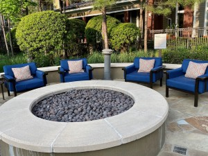 One Bedroom Apartments for Rent in The Woodlands, TX - Outdoor Fire Pit