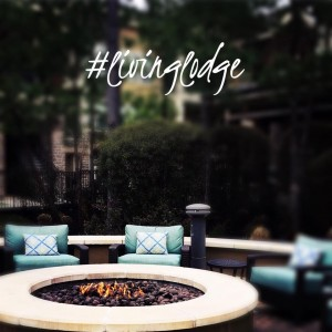 One Bedroom Apartments for Rent in The Woodlands, TX - Outdoor Lit Fire Pit
