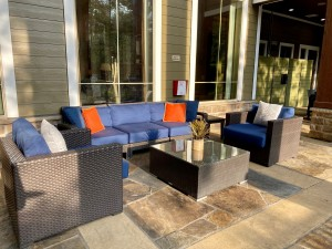 One Bedroom Apartments for Rent in The Woodlands, TX - Outdoor Seating Area