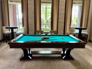One Bedroom Apartments for Rent in The Woodlands, TX - Pool Table