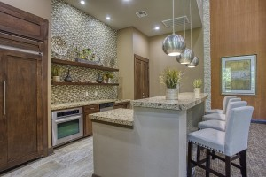 Three Bedroom Apartments for Rent in The Woodlands, TX - Clubhouse Kitchen