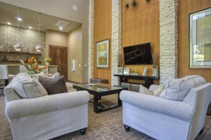Three Bedroom Apartments for Rent in The Woodlands, TX - Clubhouse Seating Area