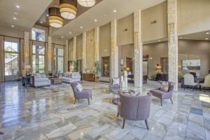 Three Bedroom Apartments for Rent in The Woodlands, TX - Clubhouse Lobby Area