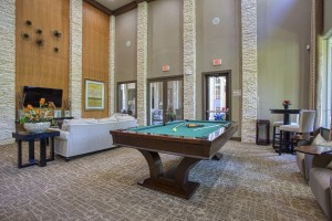 Three Bedroom Apartments for Rent in The Woodlands, TX -  Clubhouse Pool Table