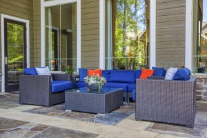 Three Bedroom Apartments for Rent in The Woodlands, TX - Outdoor Seating Area