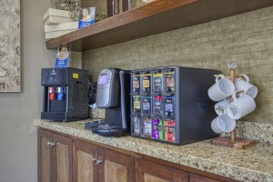 Two Bedroom Apartments for Rent in The Woodlands, TX - Clubhouse Coffee Bar