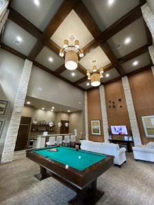 Two Bedroom Apartments for Rent in The Woodlands, TX - Clubhouse Pool Table