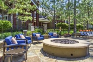 Two Bedroom Apartments for Rent in The Woodlands, TX - Fire Pit with Seating