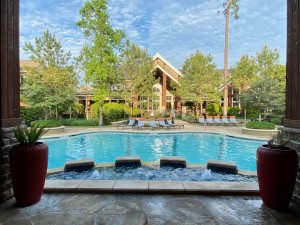 Two Bedroom Apartments for Rent in The Woodlands, TX - Pool & Clubhouse
