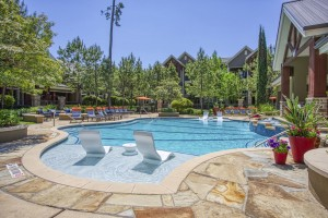Two Bedroom Apartments for Rent in The Woodlands, TX - Pool Area (2)