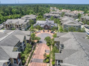 Two Bedroom Apartments for Rent in The Woodlands, TX - Aerial View of Community