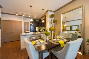 1 Bedroom Apartments for Rent in The Woodlands, TX - Dining Room & Kitchen