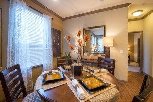 2 Bedroom Apartments for Rent in The Woodlands, Texas - Model Dining Room