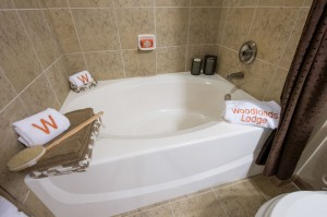 3 Bedroom Apartments for Rent in The Woodlands, Texas - Model Bathroom Tub