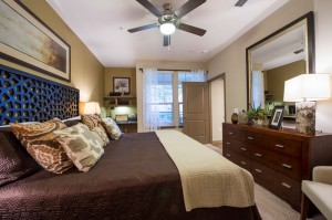 3 Bedroom Apartments for Rent in The Woodlands, Texas - Model Bedroom (2)