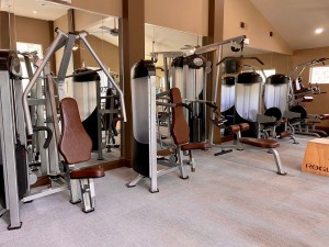 Apartments in Woodlands, TX Fitness- Machines (2)